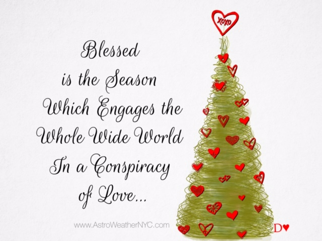 blessed is the season