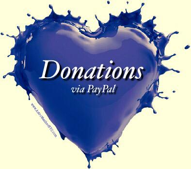 donations via pay pal